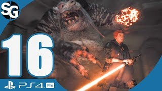Star Wars Jedi: Fallen Order Walkthrough Gameplay | Raise the Spire of Miktrull - Part 16