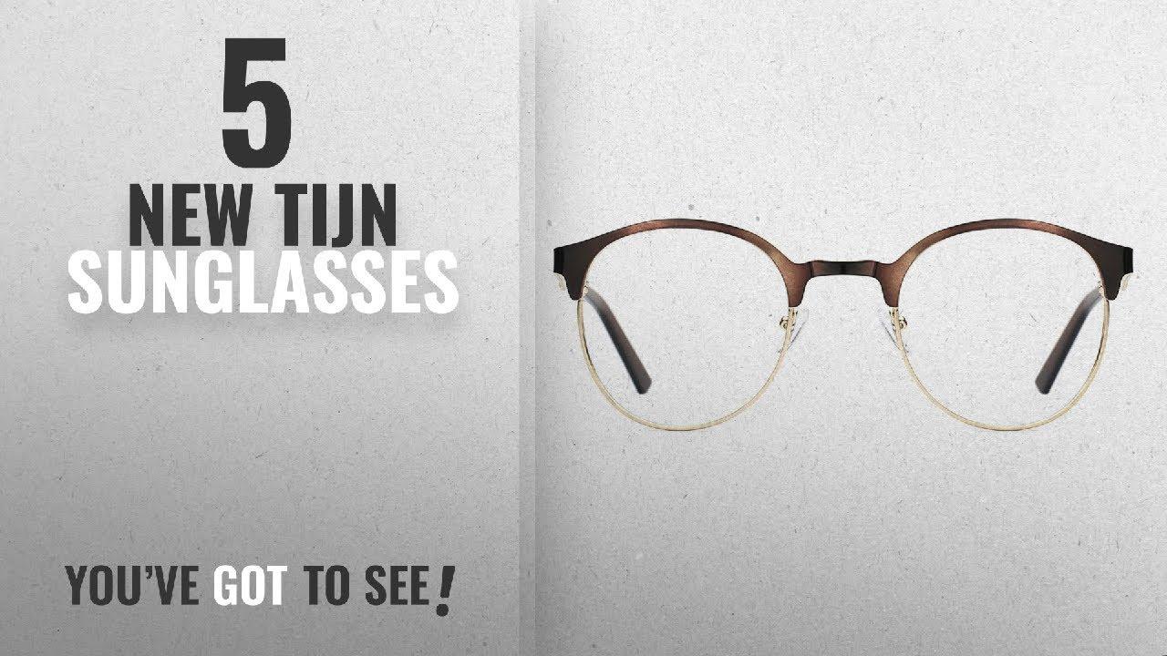 8c9ca4a7e65c Top 10 Tijn Sunglasses [ Winter 2018 ]: TIJN New Round Designer ...