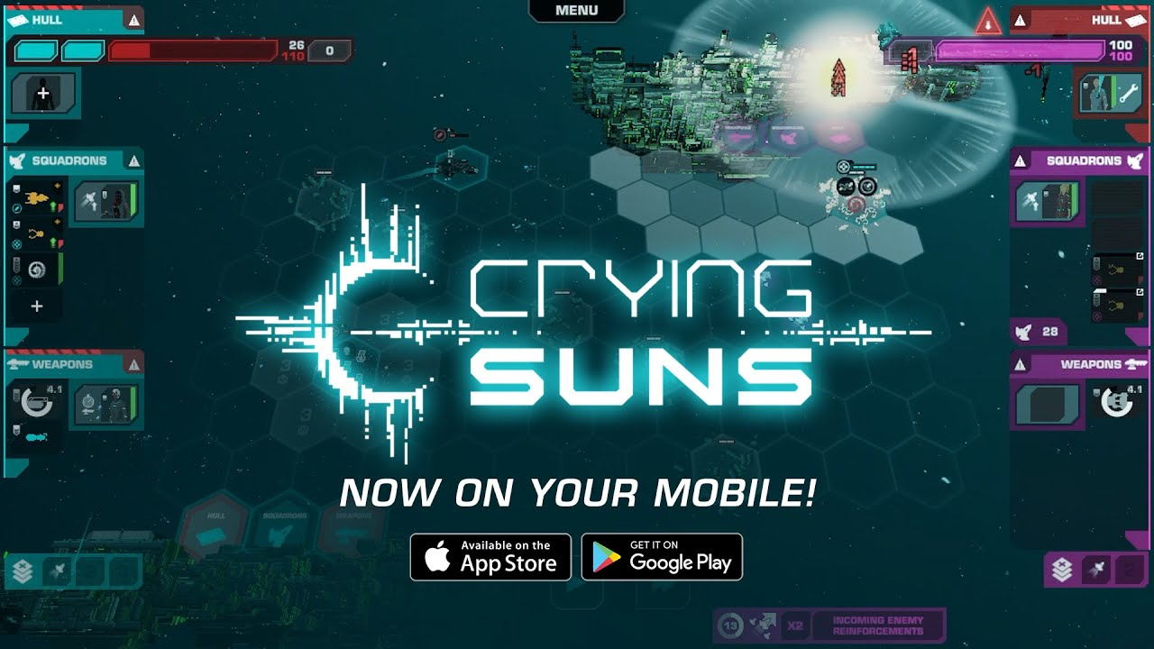 Crying Suns - Mobile Launch Trailer