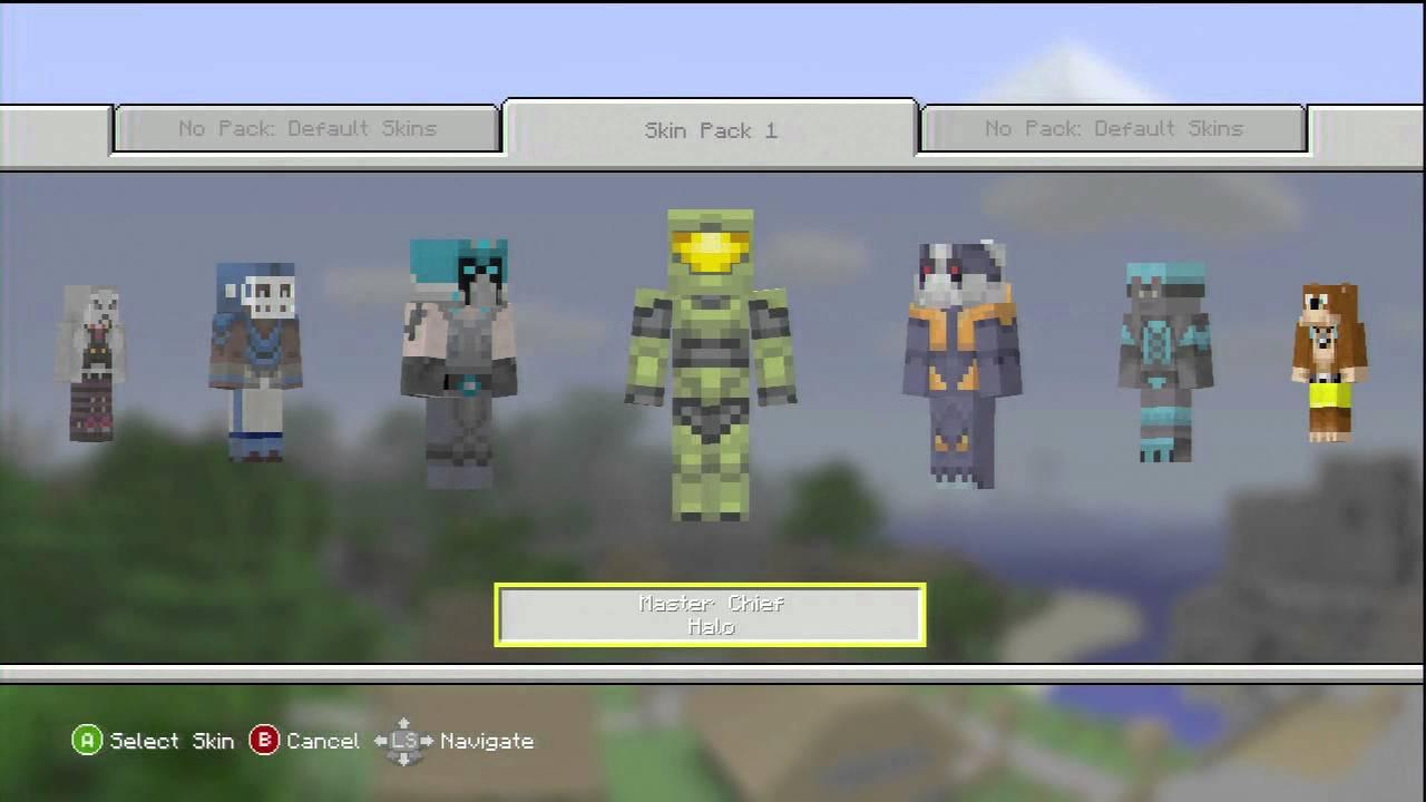 Skins 360 Xbox Minecraft