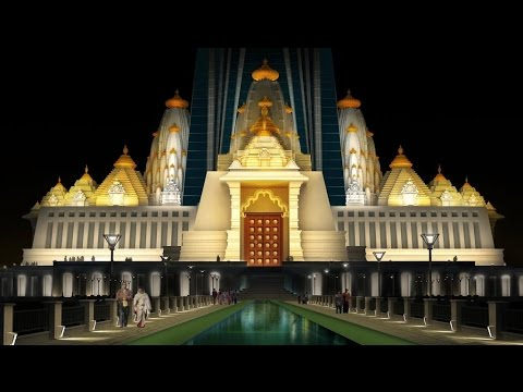 Vrindavan Chandrodaya Mandir on CCN DEN Channel News Report