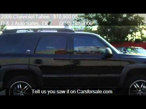 2006 Chevrolet Tahoe Z71 4dr SUV for sale in Dallas, TX 7521
