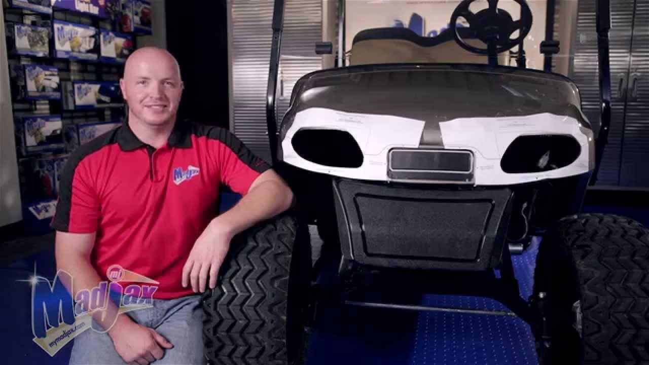 Light Kit will fit *EZGO® *Freedom *TXT® | How to Install Video | Madjax® Golf Cart