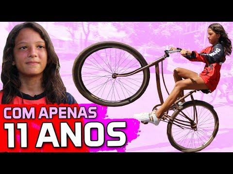 MENINA DANDO SHOW NO GRAU SEM FREIO | PORTAL WHEELING EM CÁCERES - MT