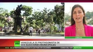 Venezuela vota en las elecciones municipales