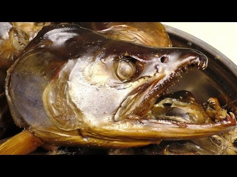 Как солить рыбьи головы