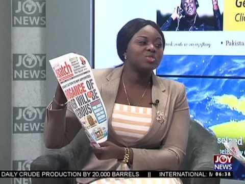 AM Show Newspaper Headlines on Joy News (20-12-16)