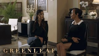 Grace Questions Rochelle About Her Past | Greenleaf | Oprah Winfrey Network