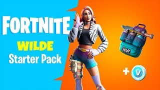 The NEW Fortnite STARTER PACK BUNDLE..! (Showcase)