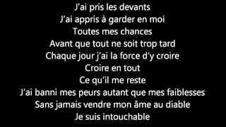 Sarah Riani - Intouchable (Paroles)