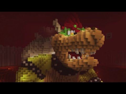 Super Mario Mash-Up Pack for Minecraft - Bowser's Castle!