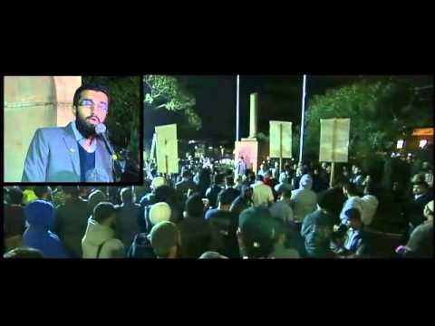 "Uthman Badar ""spin and propaganda"" - 18 Sep 2014"