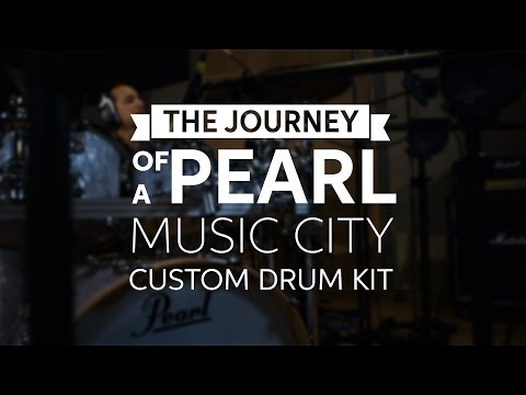 The Journey of a Pearl Music City Custom Drum Kit with Nick D'Virgilio