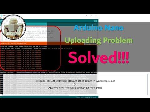 Solution ) Why Arduino Nano NOT Uploaded (2019) | How to Upload avrdude:  stk500_getsync()