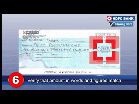 10 tips to help you write a cheque correctly - Banking Basics