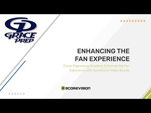 Grace Preparatory Academy Enhances the Fan Experience with ScoreVision Video Boards