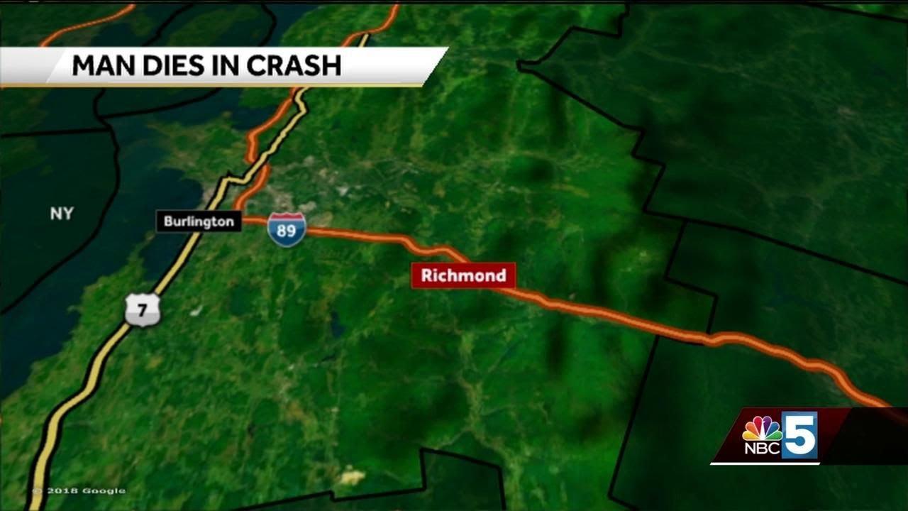Man dies in crash on interstate