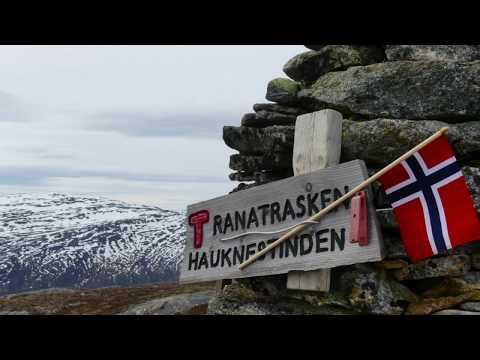 Norway, Mo I Rana, Hauknestinden.