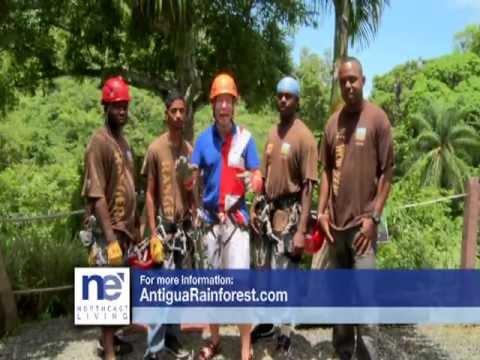 Antigua Rainforest Canopy - Mar Jennings of Northeast Living on FOX CT