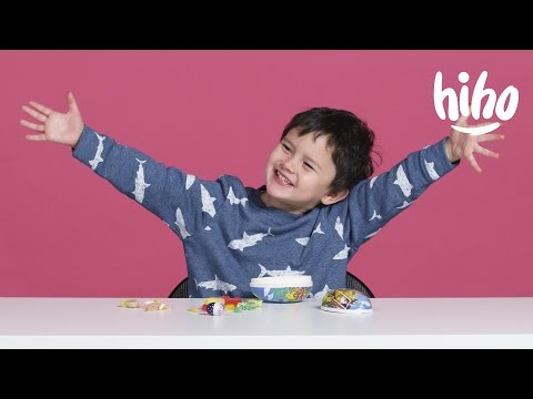 American Kids Try Easter Candy | Kids Try | HiHo Kids