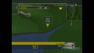 ProStroke Golf: World Tour 2007 Xbox Gameplay - Water Hazard