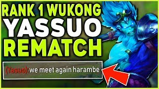 Download # WUKONG WORLD REMATCH VS. YASSUO! (THE EPIC BATTLE) - League of Legends Mp3 and Videos