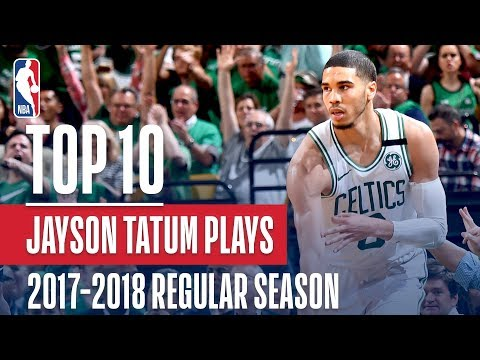 Jayson Tatum's Top 10 Plays of the 2017-2018 NBA Regular Season