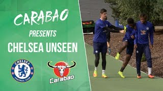 New signings, mischievous players and hilarious out-takes in chelsea unseen - best of september!