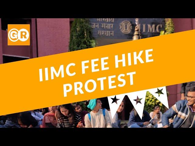 GroundReport.in | IIMC Fee Hike Strike | IIMC New Delhi | Indian Institute of Mass Communication