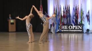 2016   Showcase   Benji Scwimmer & Nicole Clonch   US Open