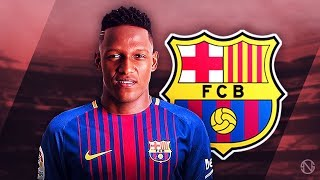 YERRY MINA - Welcome to Barcelona - Elite Defensive Skills, Passes & Goals - 2017 (HD)
