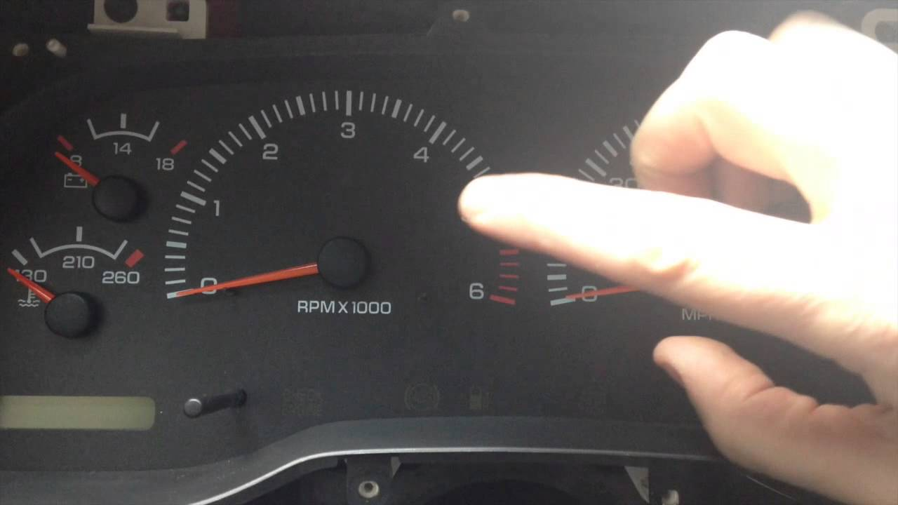 1998 Dodge Dakota Sdometer Calibration