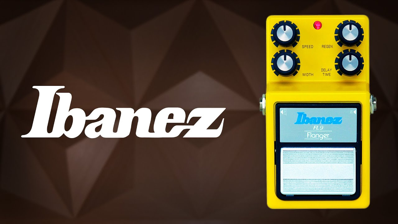 ibanez review pedal flanger fl9 youtube