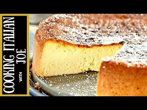 Ricotta Cheesecake Recipe Cooking Italian with Joe