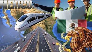 Desarrollo y Progreso: Hombres y Mujeres que Mueven a México - Construcción de una Grandiosa Nación