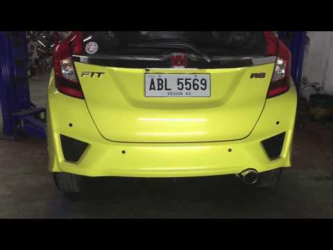 Honda Jazz Air Intake And Full Exhaust System (DRIFT Xaust)!