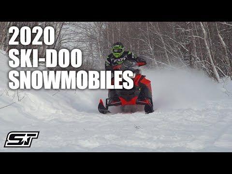 2020 Ski-Doo Snowmobile Lineup