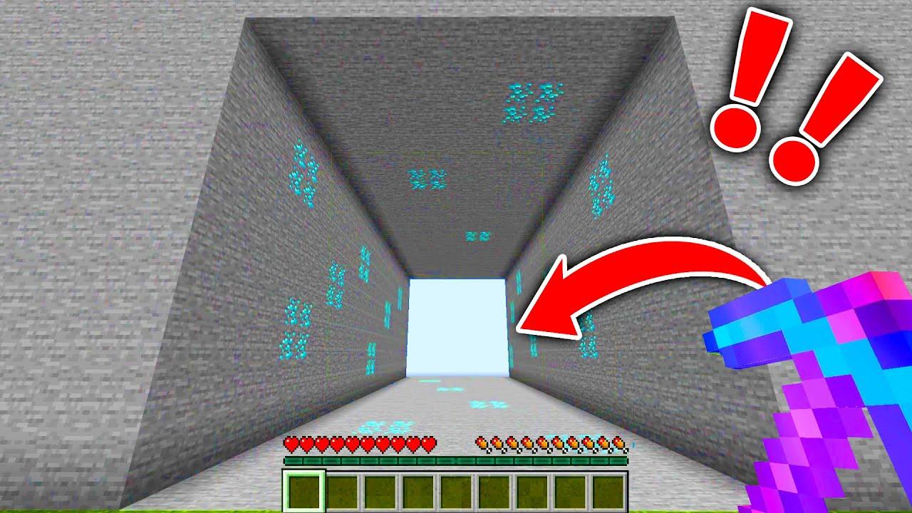 【マイクラ】全て破壊するチートツルハシを使ってサバイバルしたらヤバすぎたwww【マインクラフト 】【まいくら】