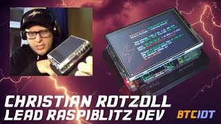BTCIOT - Interview with Christian Rotzoll, lead dev of Raspiblitz