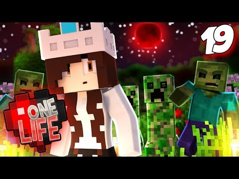 LOGGED IN DURING A BLOOD MOON | One Life SMP 2.19