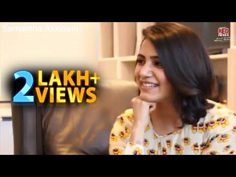 Samantha Akkineni about Rangasthalam | RJ Chaitu | Ram Charan | DSP | Red FM Hyderabad