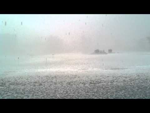 Hail Storm at the Country Club of Bristol