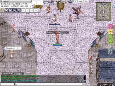 Philippines Ragnarok Online (Test Leveling Up)