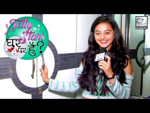 Helly Shah Unveils Her Secret Wardrobe   Telly Stars घर पर हैं?