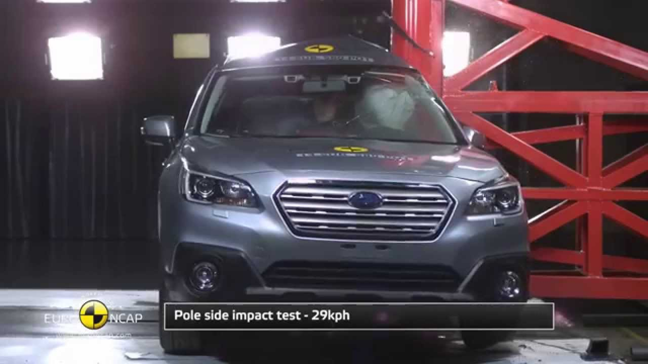 Euro NCAP  Crash Test of 2014 Subaru Outback  5 star safety
