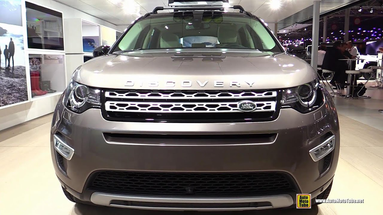 2015 land rover discovery sport hse luxury walkaround 2014 paris auto show youtube. Black Bedroom Furniture Sets. Home Design Ideas