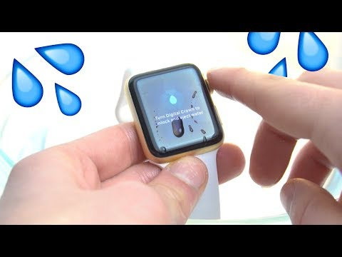 WATER LOCK your Apple Watch when going on water?