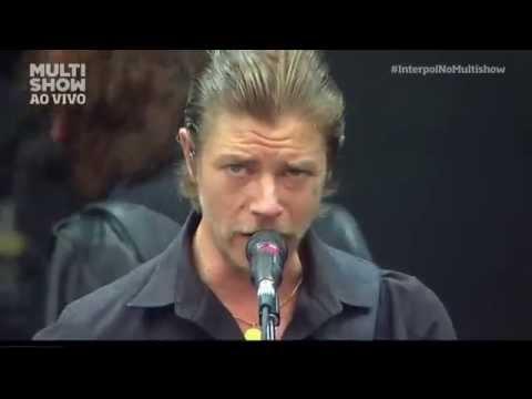 Interpol - Not Even Jail Lollapalooza Brasil 2015