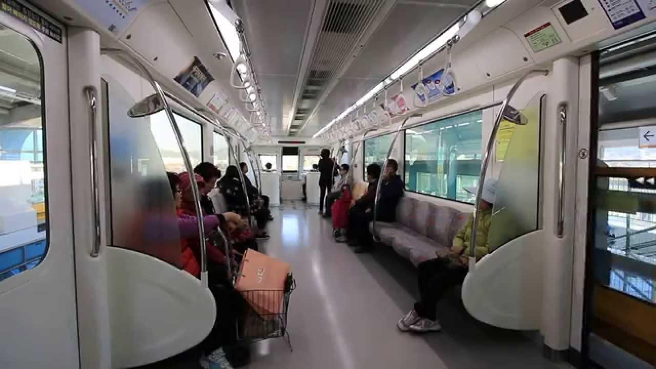 韓国】 大邱都市鉄道3号線(モノ...