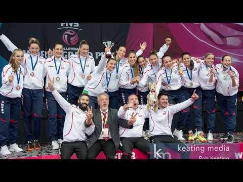 Australia v Hungary FIVB Women's World Grand Prix Group 3 Final in Canberra